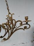 Люстра бронзовая в стиле модерн, фото №6