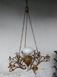 Люстра бронзовая в стиле модерн, фото №11