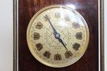 Настольные часы Молния в деревянном корпусе photo 3