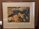 """Зеновій Флінта, картина """"Гірський пейзаж"""", 1966р photo 1"""