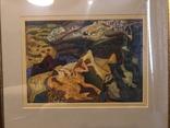 """Зеновій Флінта, картина """"Гірський пейзаж"""", 1966р photo 2"""