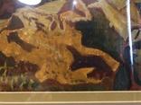 """Зеновій Флінта, картина """"Гірський пейзаж"""", 1966р photo 5"""