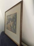 """Зеновій Флінта, картина """"Гірський пейзаж"""", 1966р photo 9"""