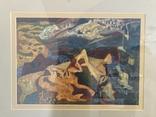 """Зеновій Флінта, картина """"Гірський пейзаж"""", 1966р photo 11"""