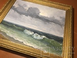 Картина маслом « После дождя» Самойлов 1989 год, фото №4