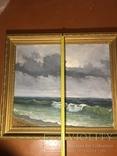 Картина маслом « После дождя» Самойлов 1989 год, фото №6