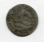 Трояк 1588 год.R8, фото №2
