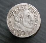 Трояк 1588 год.R8, фото №4