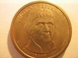 1 доллар 2007 - Томас Джефферсон 3 президент, фото №2