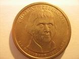 1 доллар 2007 - Томас Джефферсон 3 президент, фото №3
