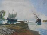 Морской пейзаж (45х63)см, фото №4