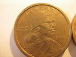 2  доллара Сакагавеи 2000 года, фото №3
