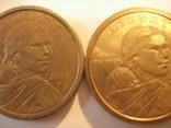 2  доллара Сакагавеи 2000 года, фото №6