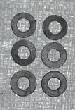 Уплотнительные резинки 6шт (для металлоискателей)