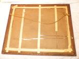 Старинная картина репродукция - шикарная рамка деревянная - -- германия --- 92 х 74,5 см photo 10