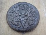 Старая серебряная пудреница., фото №2