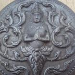 Старая серебряная пудреница., фото №5