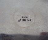 Старая серебряная пудреница., фото №12