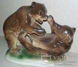 Статуэтка.Медвежата.Зитцендорф.12x15, фото №2