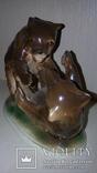 Статуэтка.Медвежата.Зитцендорф.12x15, фото №3