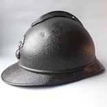 Каска Адриана 1915 года, кокарда французской пехоты
