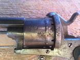 Карманный шпилечный 7мм револьвер системы Лефоше, фото №13