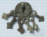 Шумящая умбовидная подвеска 9-13 век. photo 2
