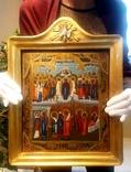 Икона Покров Божией Матери, Пресвятой Богородицы, 19 век. photo 2