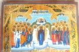 Икона Покров Божией Матери, Пресвятой Богородицы, 19 век. photo 3