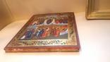 Икона Покров Божией Матери, Пресвятой Богородицы, 19 век. photo 5