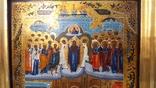Икона Покров Божией Матери, Пресвятой Богородицы, 19 век. photo 9
