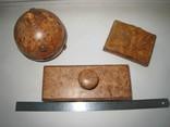 Три дореволюционных предмета из карельской берёзы., фото №12