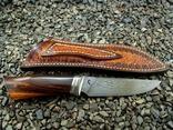Нож, Ironwood + дамаск ХВГ, 9ХС, У10А, 10% 5ХНМ photo 1