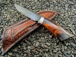 Нож, Ironwood + дамаск ХВГ, 9ХС, У10А, 10% 5ХНМ photo 5