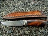 Нож, Ironwood + дамаск ХВГ, 9ХС, У10А, 10% 5ХНМ photo 6
