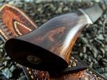 Нож, Ironwood + дамаск ХВГ, 9ХС, У10А, 10% 5ХНМ photo 10