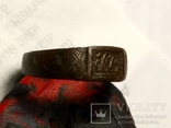 Перстень Именной с инициалами, фото №3