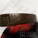 Перстень Именной с инициалами, фото №4