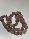 Лечебные бусы из не шлифованого янтаря 68.7 грамм, фото №2