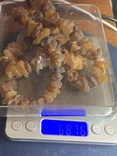 Лечебные бусы из не шлифованого янтаря 68.7 грамм, фото №4