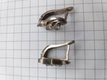 Серьги . Серебро . 4.5 гр., фото №6