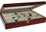Шкатулка для 18 наручных часов и ювелирных украшений Safe. D-261