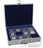 Кейс для монет Safe Alu, с наполнением. D-176