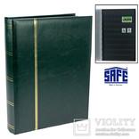 Альбом для марок SAFE Premium. Зеленый