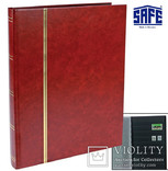 Альбом для марок Safe. Красный. 157-1