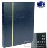 Альбом для марок Safe. Темно-синий. 157-4