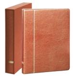 Папка - переплет серии Elegant Din A4. Lindner 1120A4 - H. Коричневый.