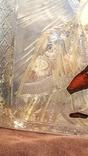Тихвинская икона Божией Матери. Серебро 84 проба. 19 век. photo 3