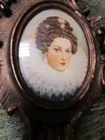 Портретная миниатюра Мария Медичи-королева Франции (1575-1642) photo 3