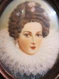 Портретная миниатюра Мария Медичи-королева Франции (1575-1642) photo 4